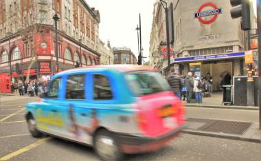 Metro et Taxi de londres