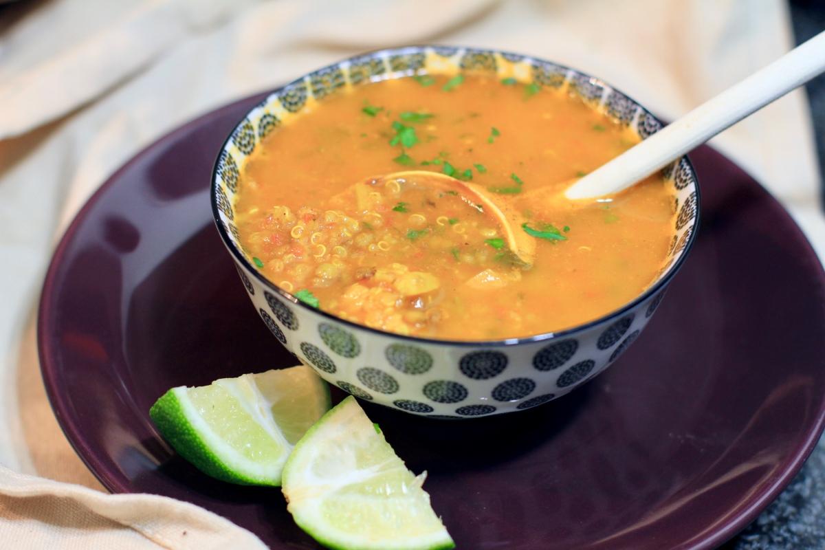 Healthy Hrira...La soupe marocaine revisitée!
